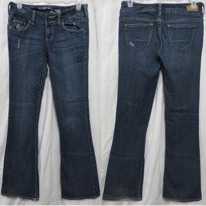 Bullhead jeans 3R Marin Flare distressed denim